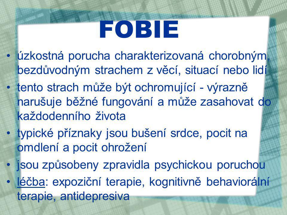 ZDROJE http://www.jogin.cz/Zbavte-se-zarlivosti-nadobro/ http://www.liduse.cz/clanky/cesta-ke-zdravi-/panicka-uzkost.html http://bojova-umeni.com/techniky/priprava-na-boj/jak-potlacit-strach.php http://www.topzine.cz/deprese-vice-nez-smutek http://memecomics-cz-a-sk.blog.cz/1201/nepoddavej-se-zoufalstvi http://zena-in.cz/clanek/stydim-se-za-nej http://blogisekzuka.blog.cz/1103/radost-mladost-stesti-laska http://turonovam.blog.cz/1103/a-tu-je-par-obrezkou-ako-som-naladena http://timeless.forumprofi.de/archive/index.php/thread-59.html http://www.spiegel.de/wissenschaft/natur/0,1518,490696,00.html http://byebyesuckas.com/anger http://www.tridavkrizi.cz/priciny-problemu http://www.blesk.cz/clanek/zpravy-udalosti-domaci/149901/vandalove-radili-na- hrbitove-skody-za-desetitisice.htmlhttp://www.blesk.cz/clanek/zpravy-udalosti-domaci/149901/vandalove-radili-na- hrbitove-skody-za-desetitisice.html http://cs.wikipedia.org/wiki/Fobie http://cs.wikipedia.org/wiki/Seznam_fobi%C3%AD