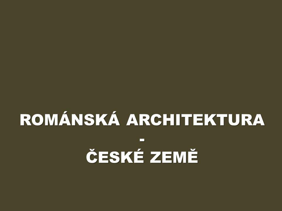 ÚVOD Výukový materiál Románská architektura – české země obsahuje informace o podobách románského stavitelství na území českého státu.