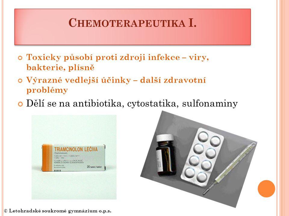 C HEMOTERAPEUTIKA I.