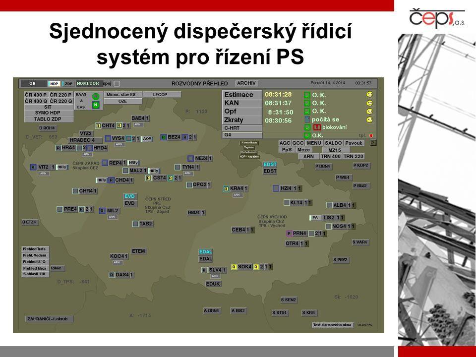 Sjednocený dispečerský řídicí systém pro řízení PS = TRIS