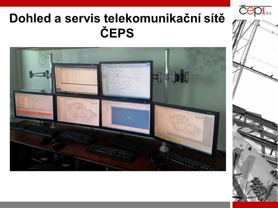 Dohled a servis telekomunikační sítě ČEPS