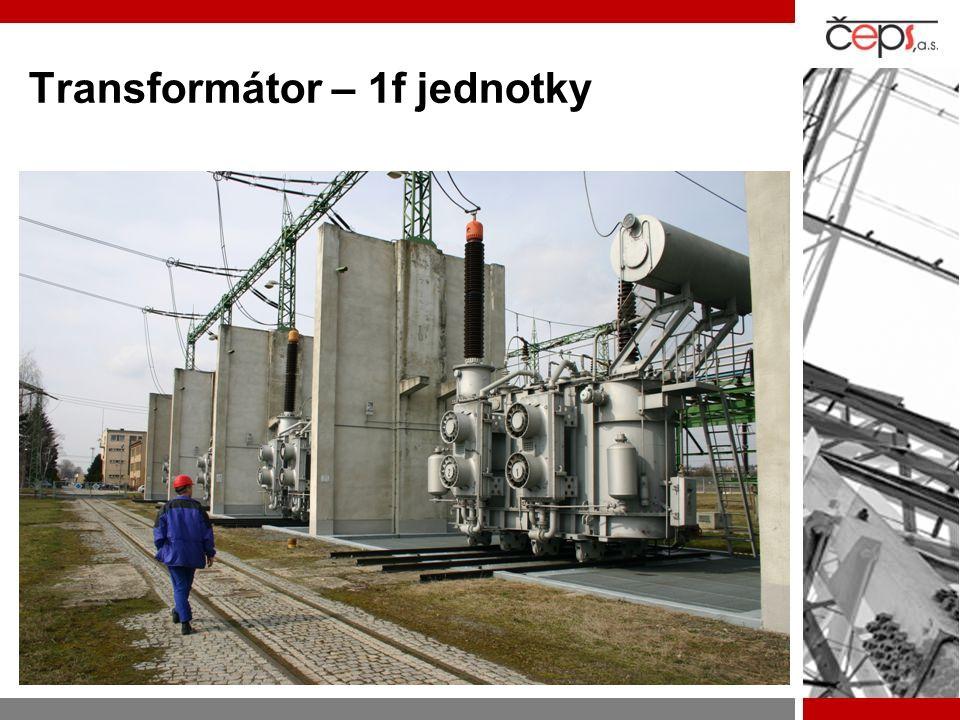 Transformátor – 1f jednotky