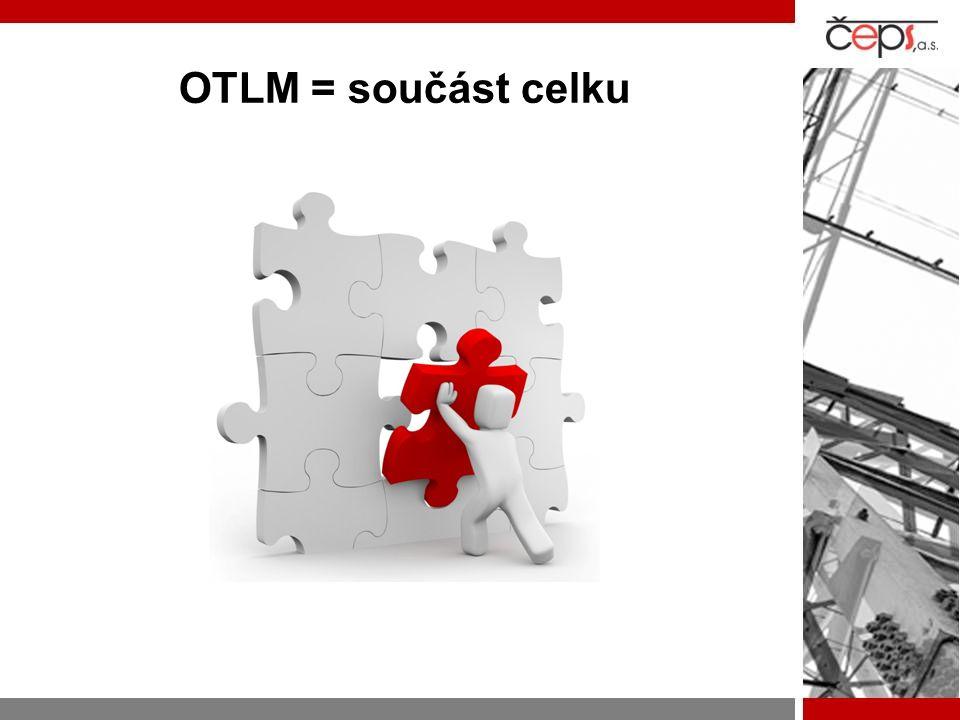 OTLM = součást celku