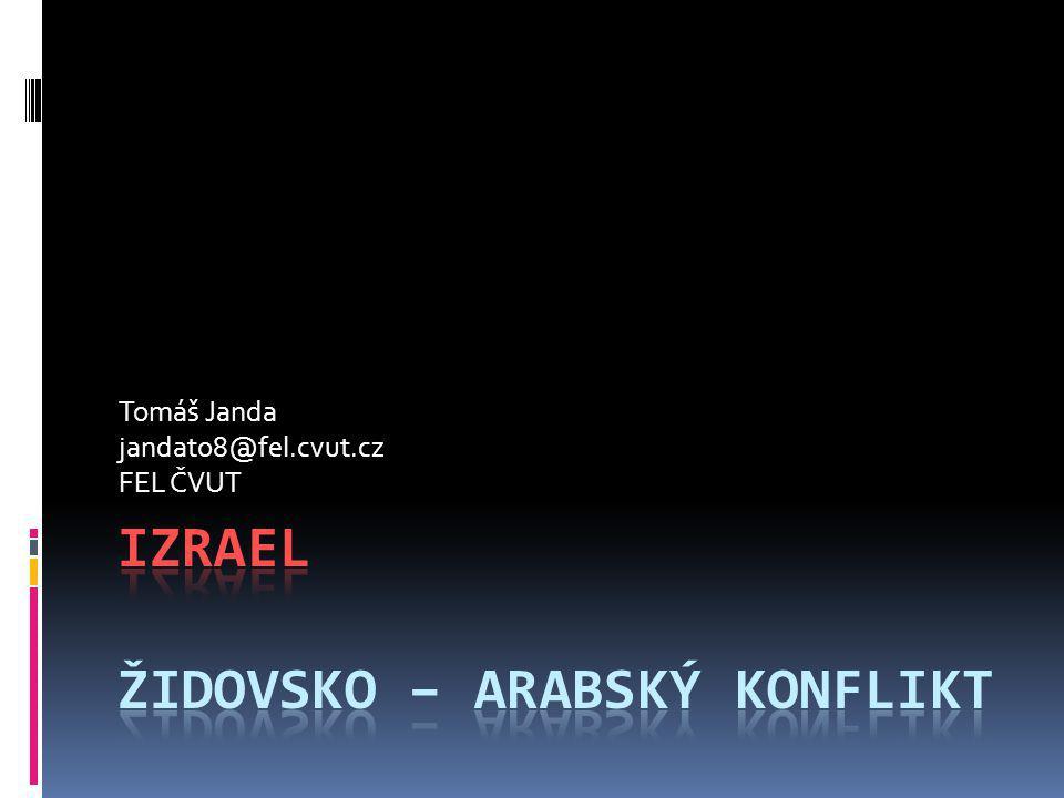 Tomáš Janda jandato8@fel.cvut.cz FEL ČVUT