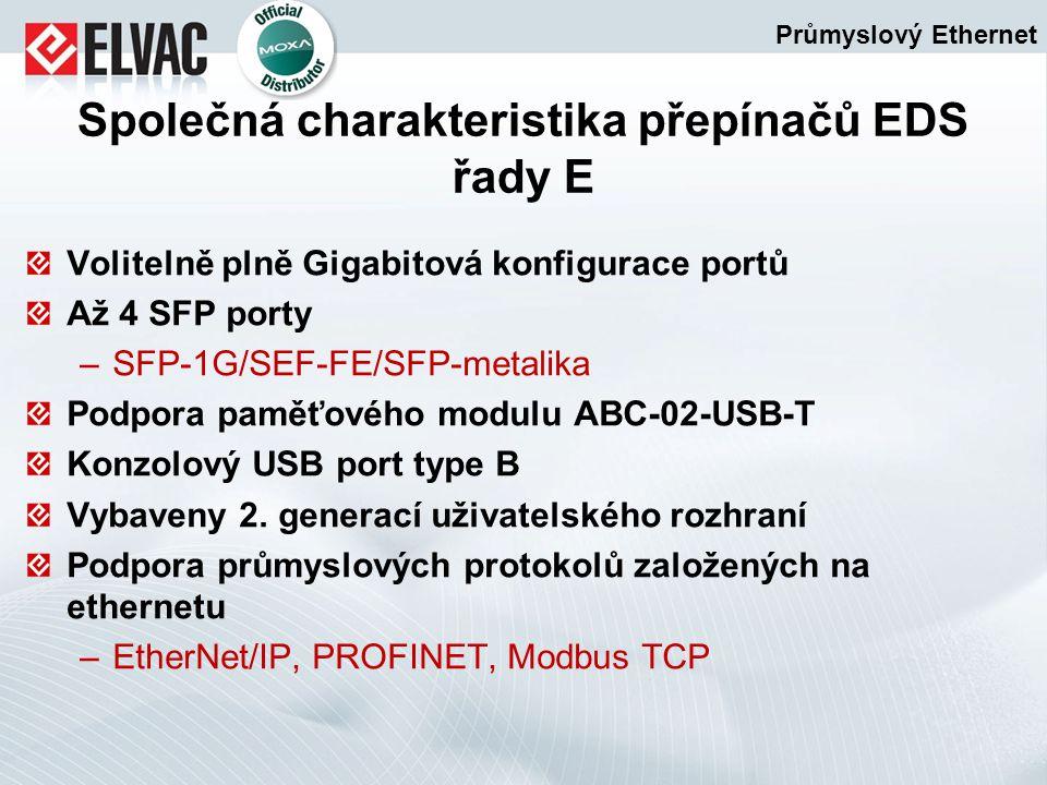 Volitelně plně Gigabitová konfigurace portů Až 4 SFP porty –SFP-1G/SEF-FE/SFP-metalika Podpora paměťového modulu ABC-02-USB-T Konzolový USB port type