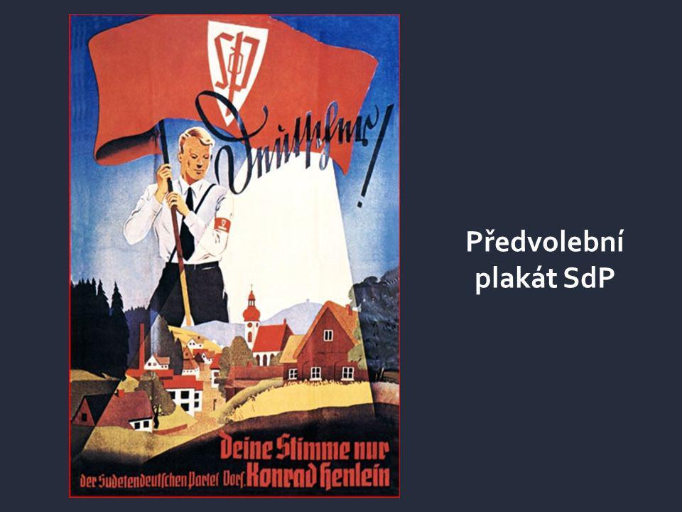 Předvolební plakát SdP