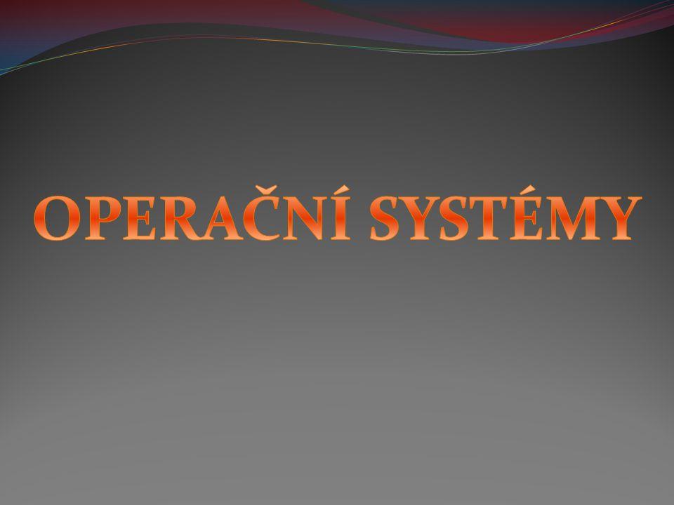 Mac OS (Macintosh Operating System) Jedná se o operační systém určený pro počítače Apple Macintosh.