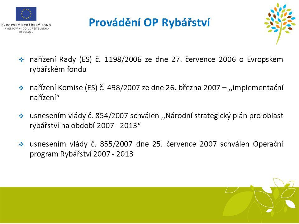  nařízení Rady (ES) č. 1198/2006 ze dne 27. července 2006 o Evropském rybářském fondu  nařízení Komise (ES) č. 498/2007 ze dne 26. března 2007 –,,im