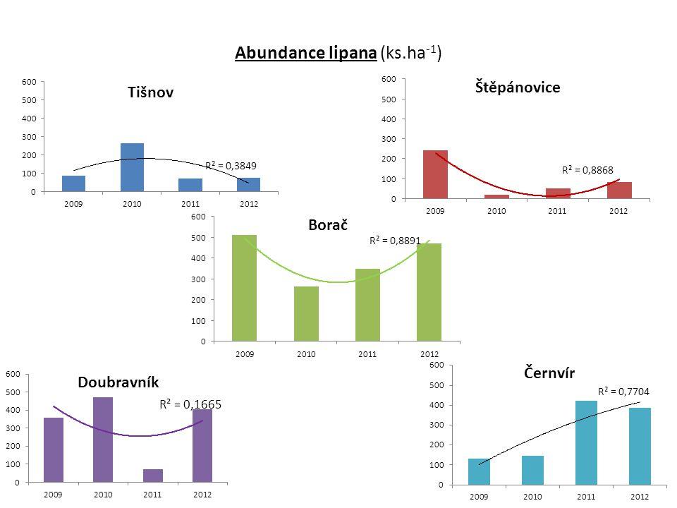 Abundance lipana (ks.ha -1 )