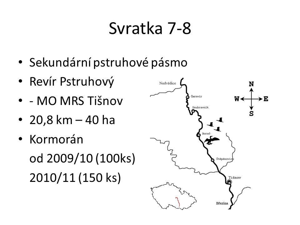Sledování Cílem sledovat stav lipana (Thymallus thymallus) a pstruha obecného (Salmo trutta m.