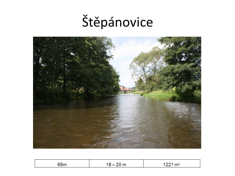 Štěpánovice 69m18 – 20 m1221 m 2