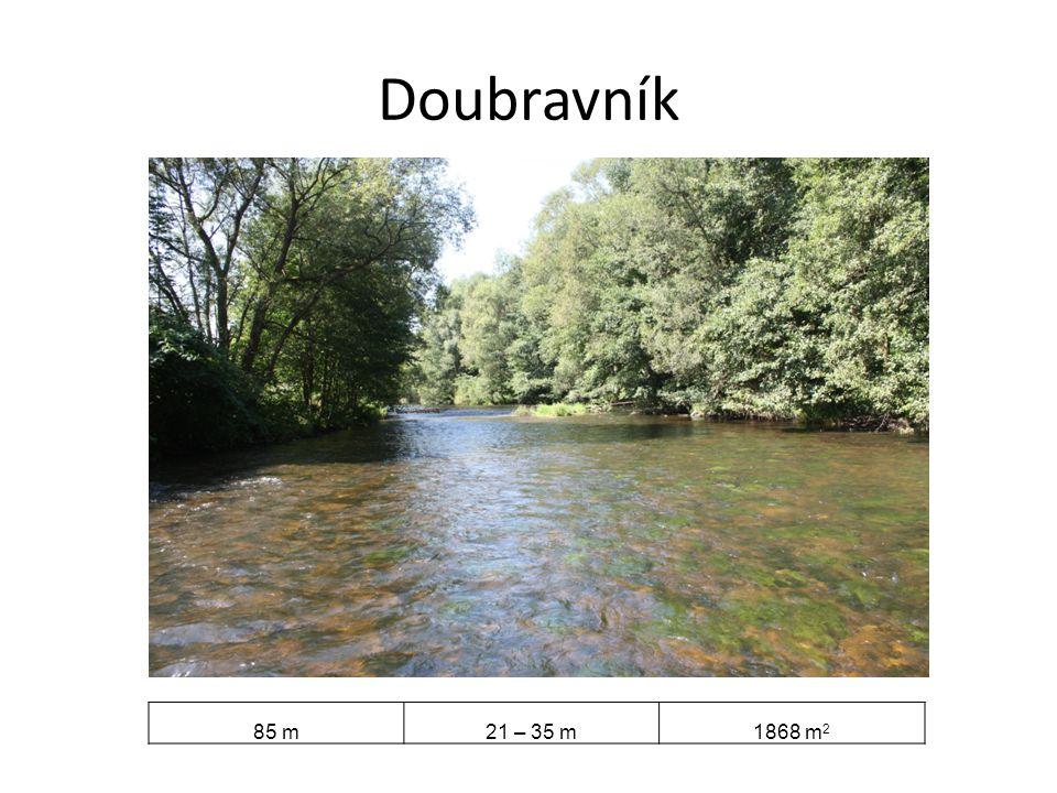 Doubravník 85 m21 – 35 m1868 m 2