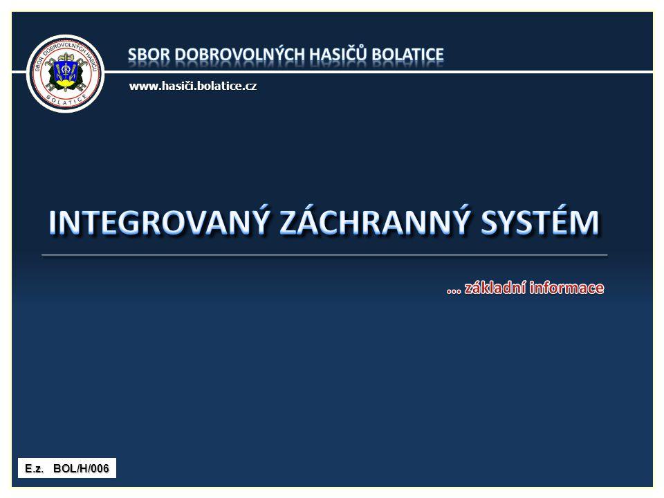2 Integrovaný záchranný systém je koordinovaný postup jeho složek při přípravě na mimořádné události, při provádění záchranných a likvidačních prací.