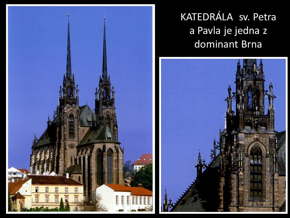 KOSTELY A KAPLE V MĚSTSKÝCH ČÁSTECH BRNA Foto grafie pořízeny v roce 2012 První část-střed města