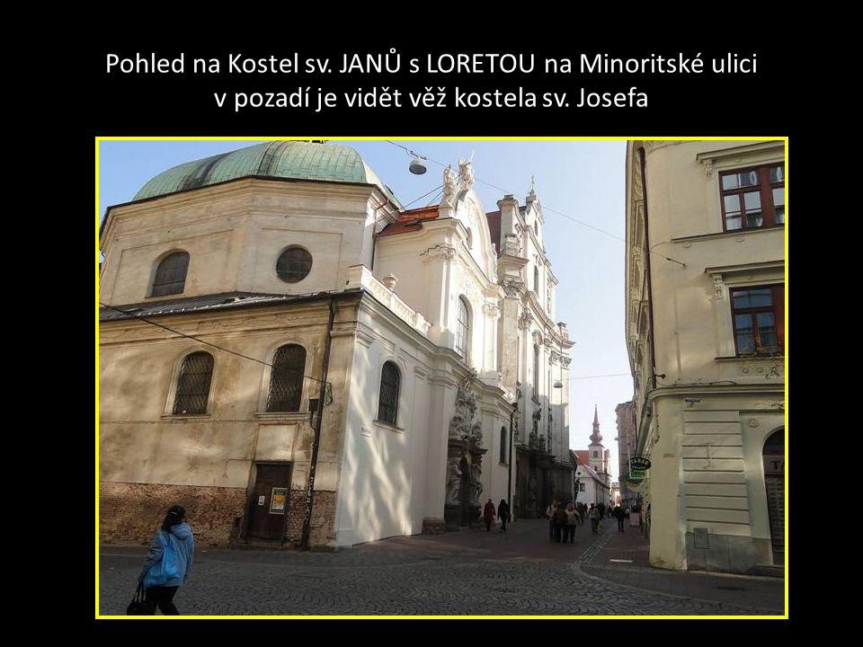 Velikost a tvar Jezuitského kostela