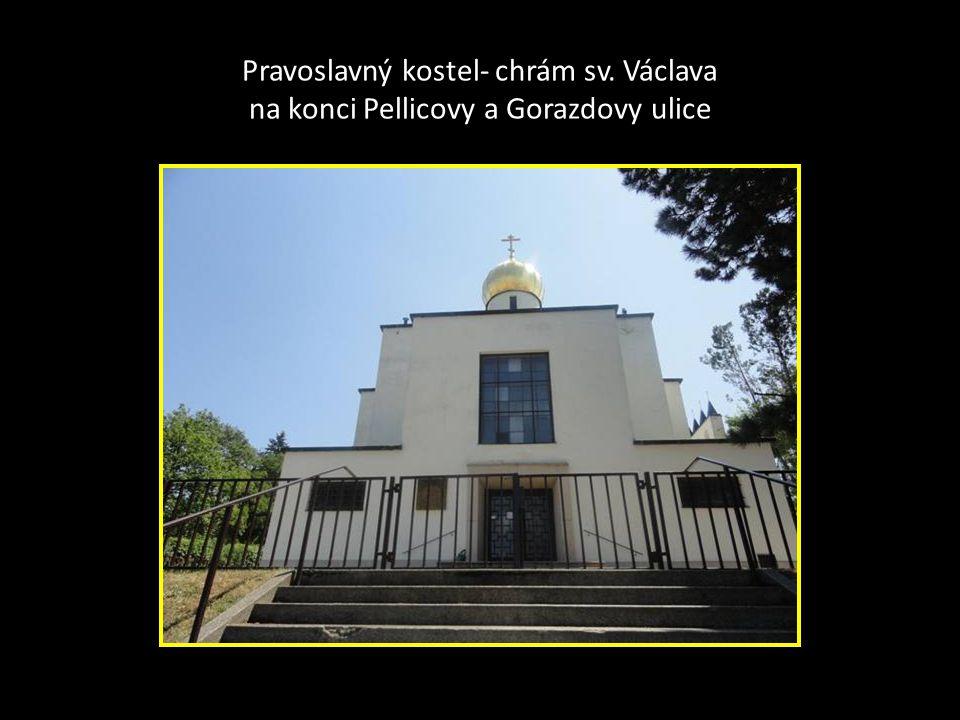 Betlémský kostel Českobratrské církve EVANGELICKÉ Pellicova ulice