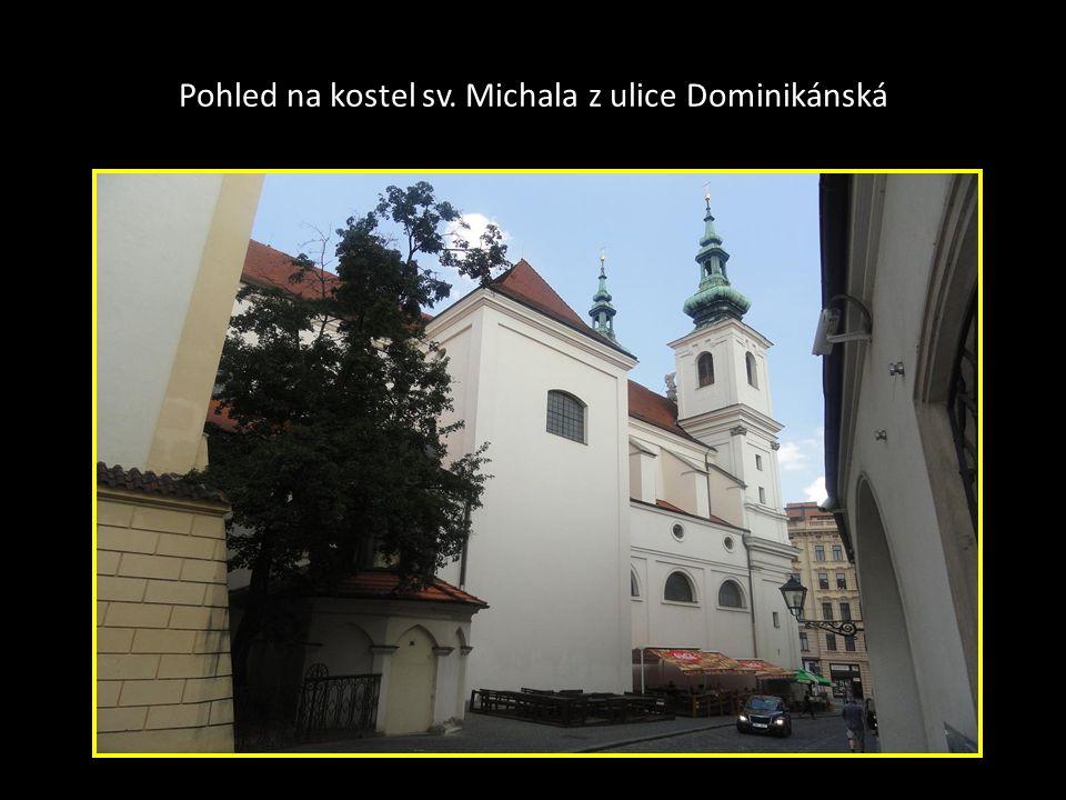 Pohled na velikost kostela sv. MICHALA