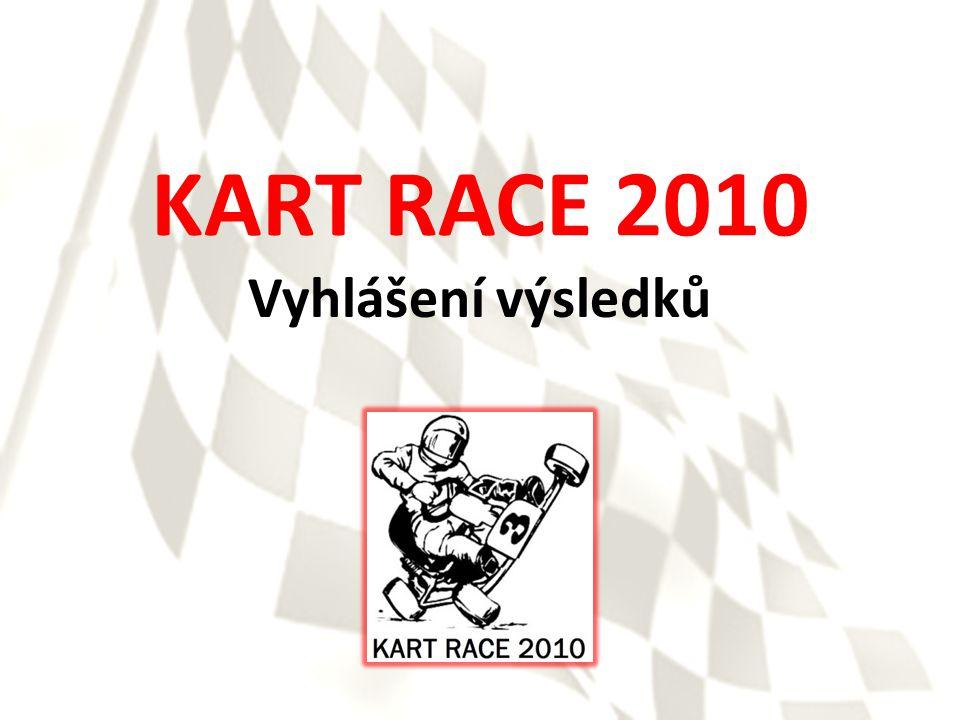 KART RACE 2010 Vyhlášení výsledků