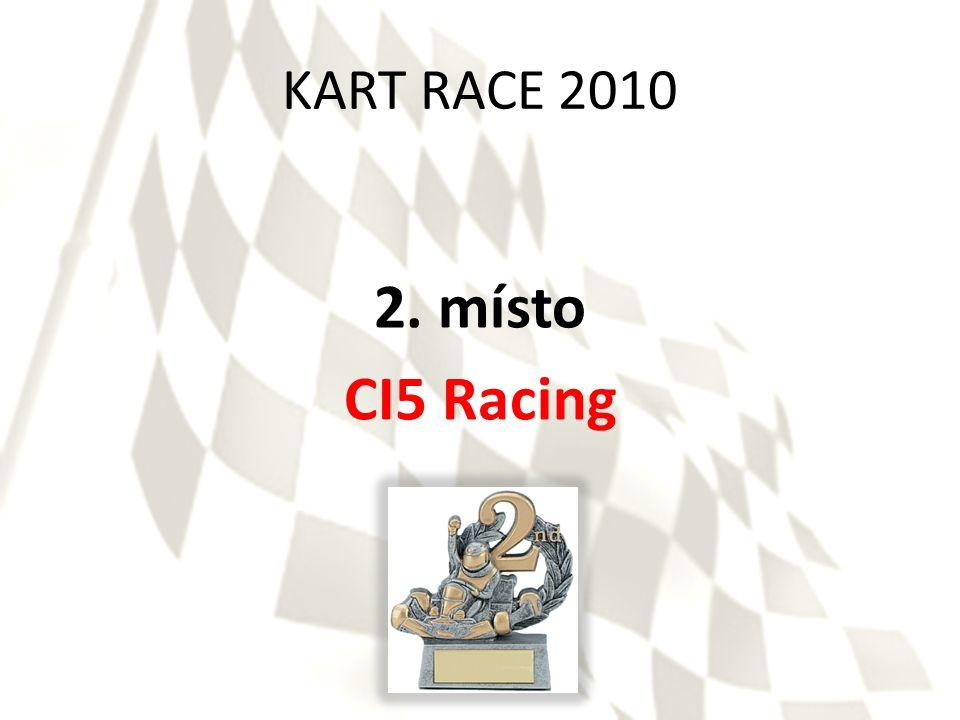 KART RACE 2010 2. místo CI5 Racing