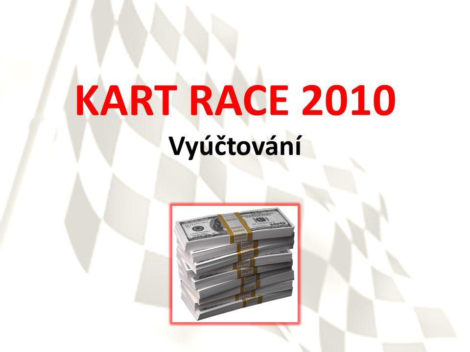 KART RACE 2010 Vyúčtování