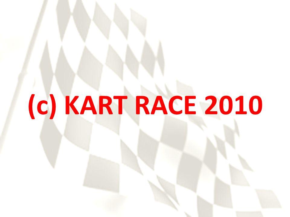 (c) KART RACE 2010