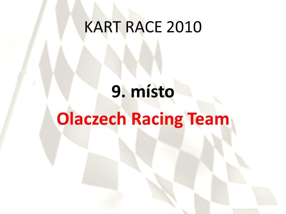 KART RACE 2010 8. místo Curves Racing System
