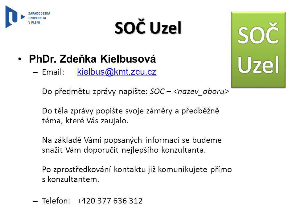 SOČ Uzel PhDr.