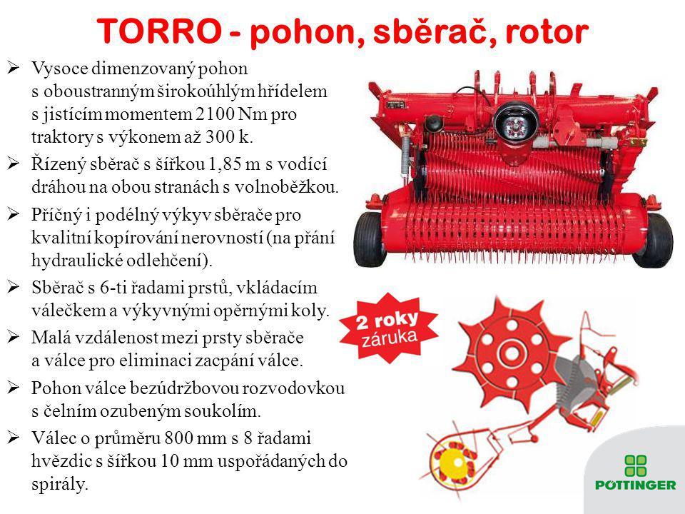 TORRO – technické údaje TORRO4500 L / D5100 L / D5700 L / D Objem ložného prostoru DIN [m³] 27,5 / 2731 / 30,534,5 / 34 Objem ložného prostoru [m³] 45
