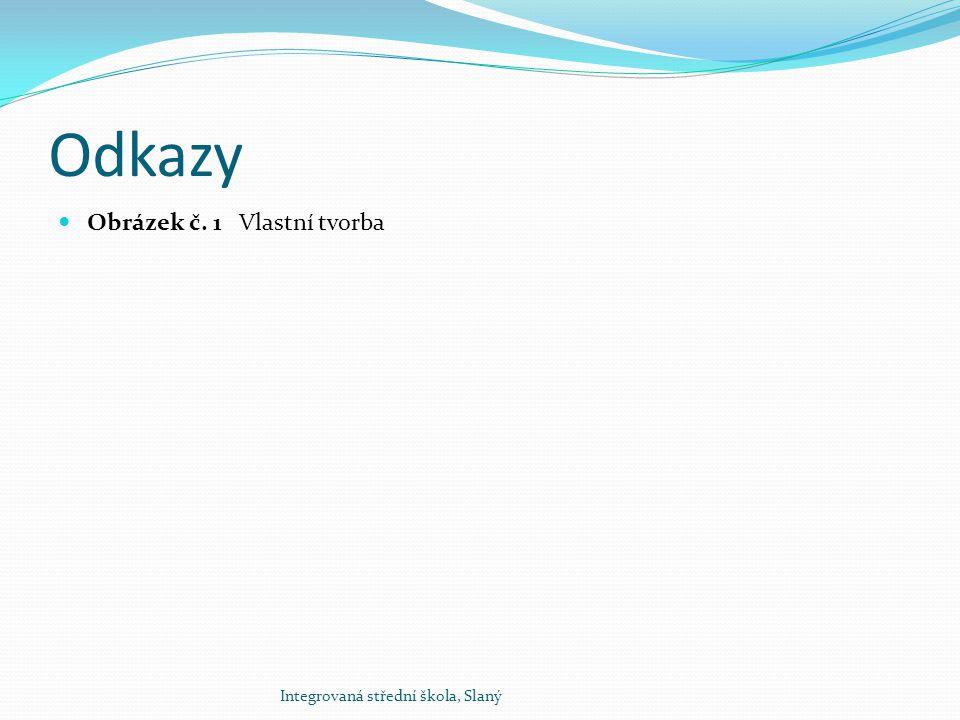 Odkazy Obrázek č. 1 Vlastní tvorba Integrovaná střední škola, Slaný