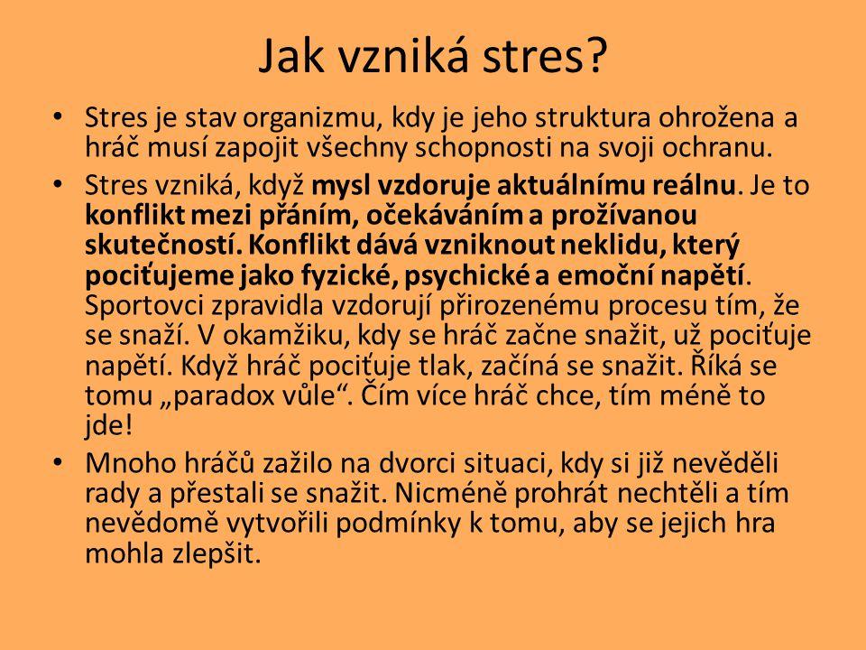 Jak vzniká stres.