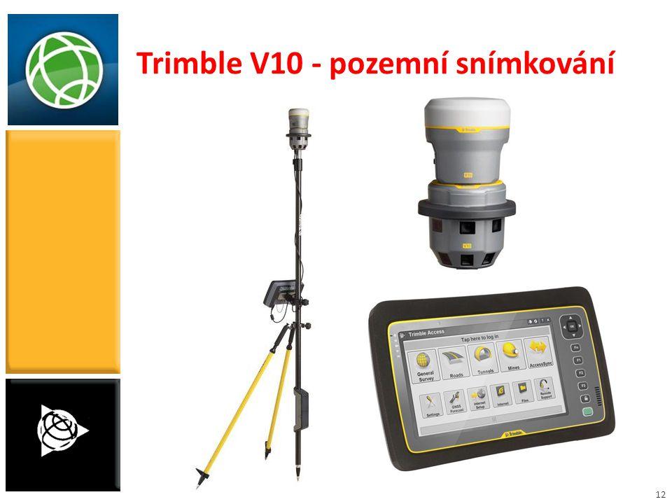 12 Trimble V10 - pozemní snímkování