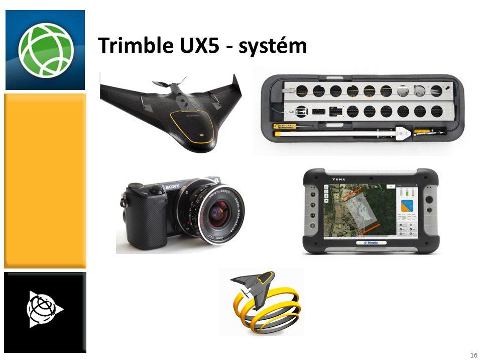 16 Trimble UX5 - systém