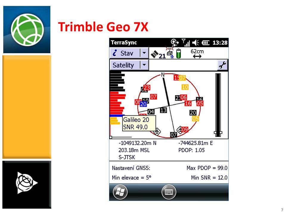 7 Trimble Geo 7X