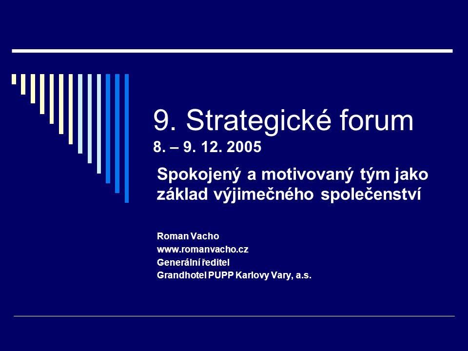9. Strategické forum 8. – 9. 12.