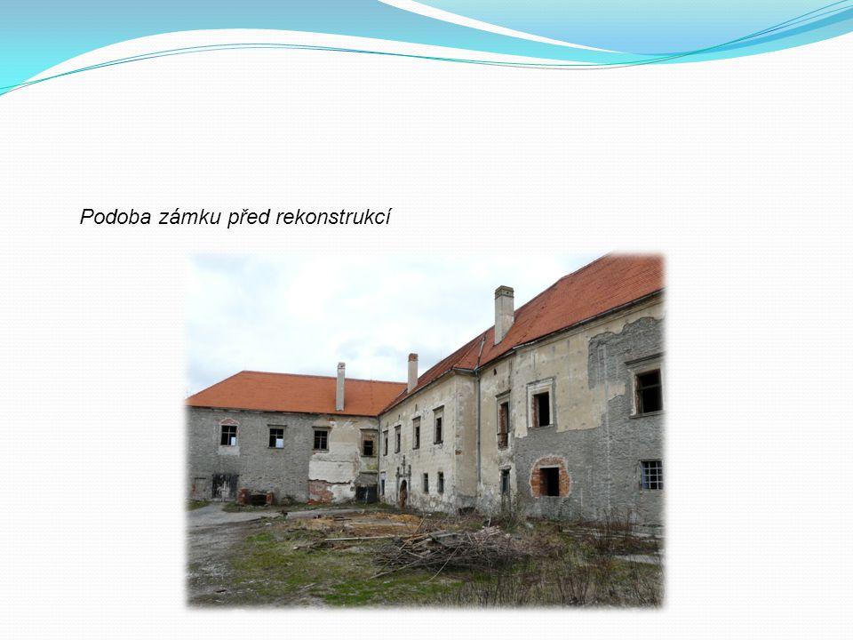 Podoba zámku před rekonstrukcí