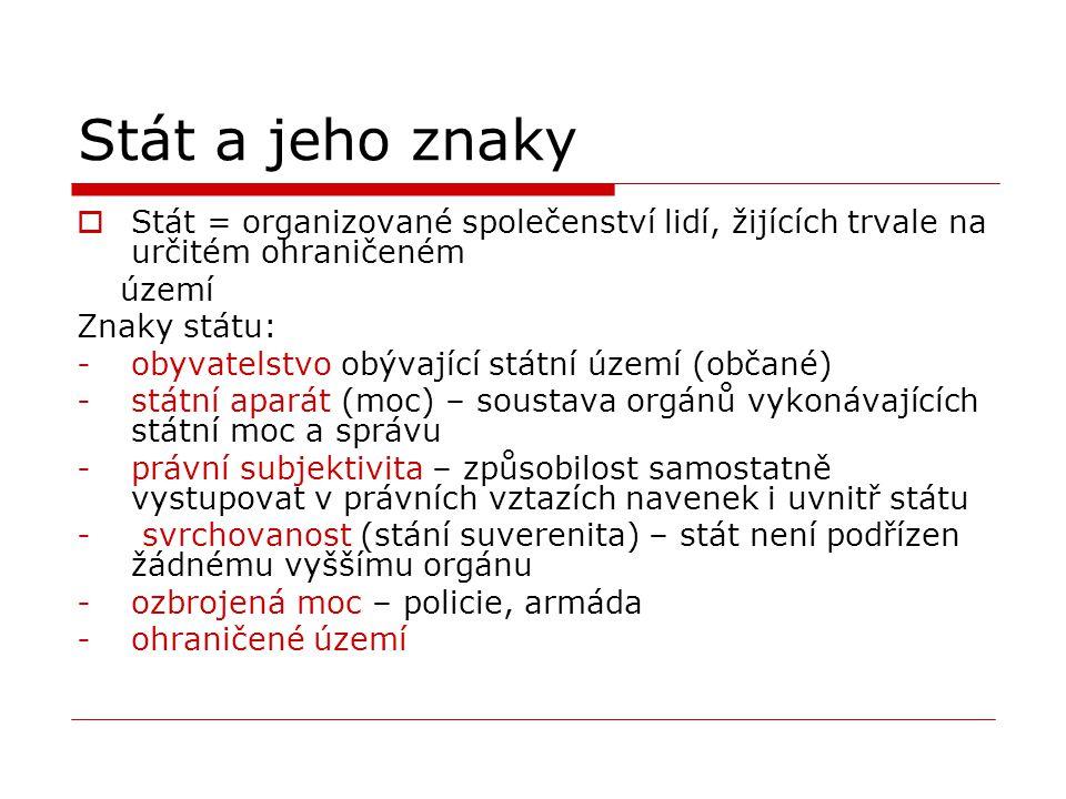 Test: Dělba státní moci 1.část 1.Kdo má v ČR zákonodárnou moc.