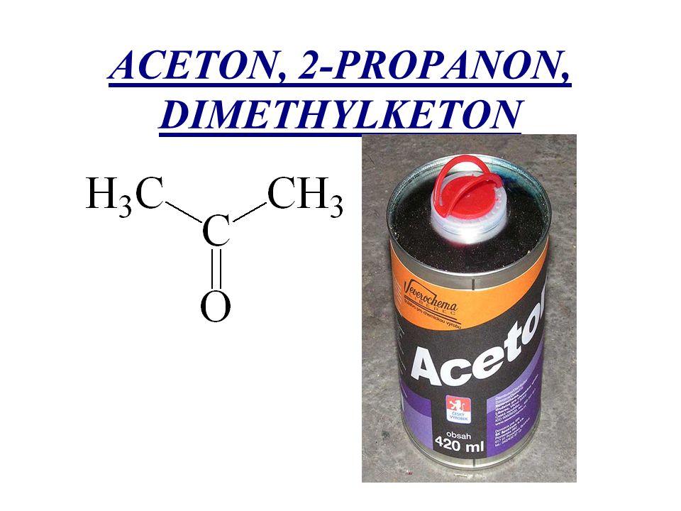 ACETON, 2-PROPANON, DIMETHYLKETON
