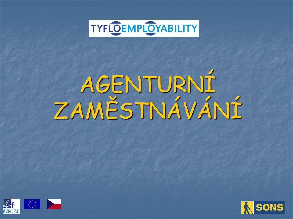 Agentury práce mohou provádět zprostředkování zaměstnání na území České republiky nebo z území České republiky do zahraničí a ze zahraničí na území České republiky.