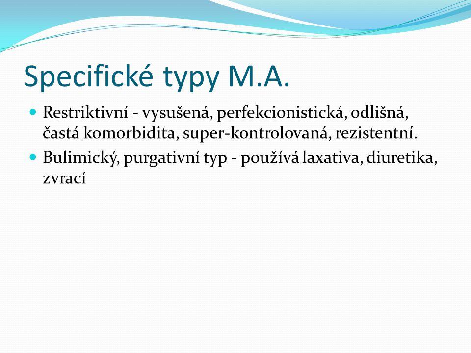 Specifické typy M.A.