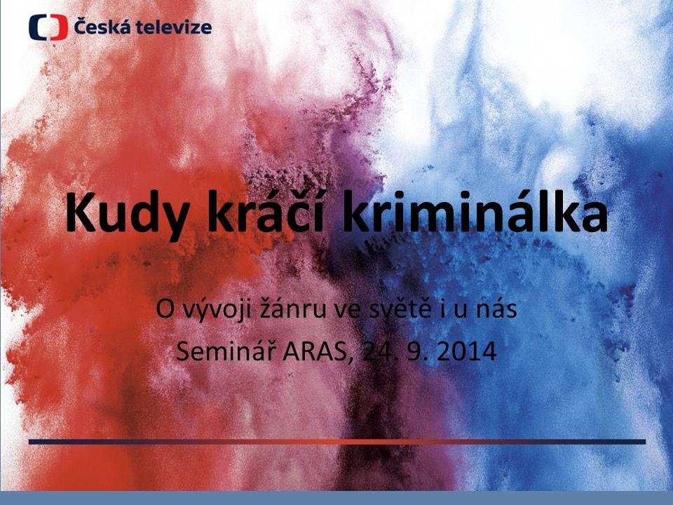 Kudy kráčí kriminálka O vývoji žánru ve světě i u nás Seminář ARAS, 24. 9. 2014