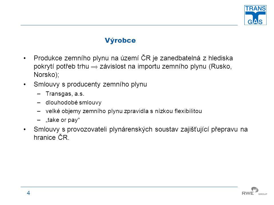 5 Provozovatel přepravní soustavy Transgas, a.s.; 1.1.