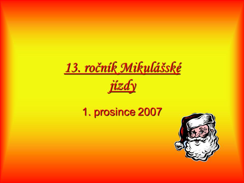 13. ročník Mikulášské jízdy 1. prosince 2007