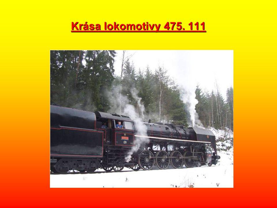 Krása lokomotivy 475. 111