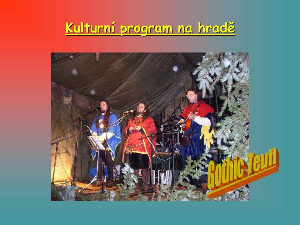 Kulturní program na hradě