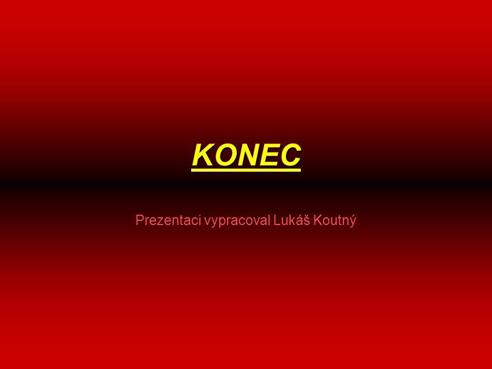KONEC Prezentaci vypracoval Lukáš Koutný