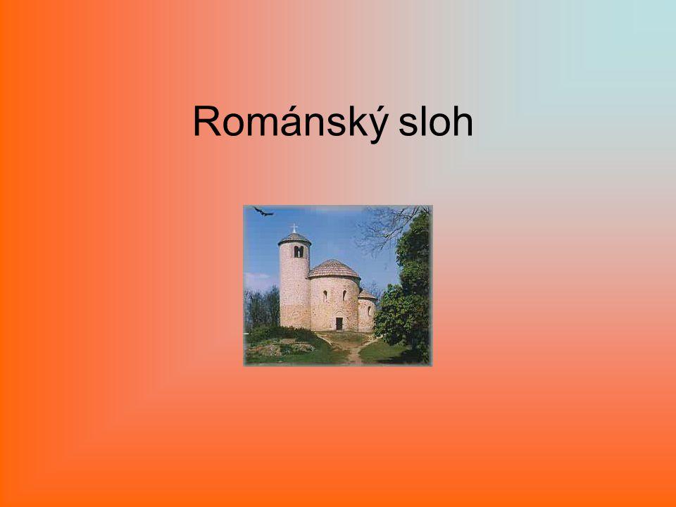 Románský sloh je umělecký sloh, který se ve středověku ve 11.