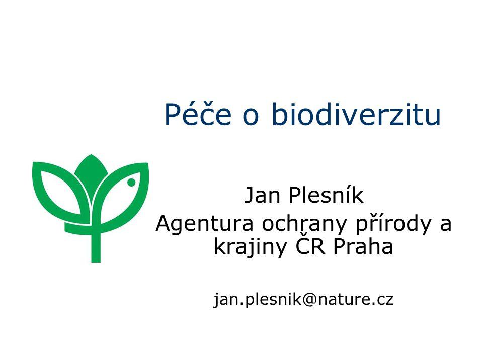 Mezinárodní ochrana přírody naplňování legislativy Evropských společenství (ES), resp.