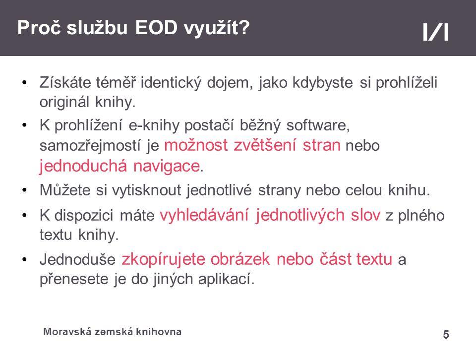 Službu EOD podporuje projekt 6