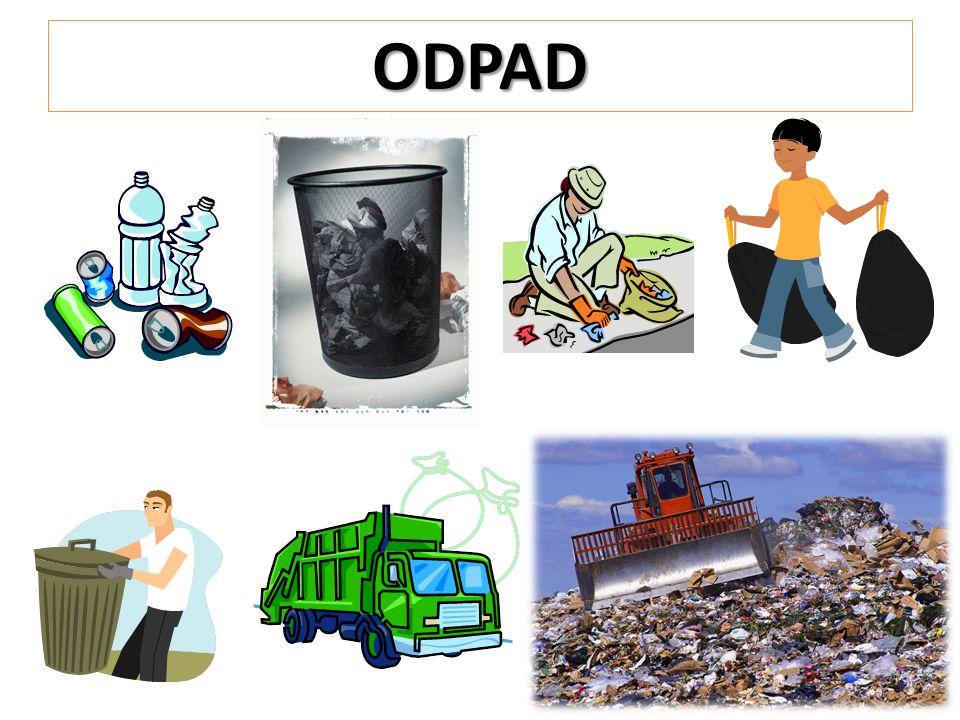 Původ odpadu Odpad je vše, co člověk využil pro svou potřebu a déle to nepotřebuje, není schopen upotřebit nebo uskladnit.
