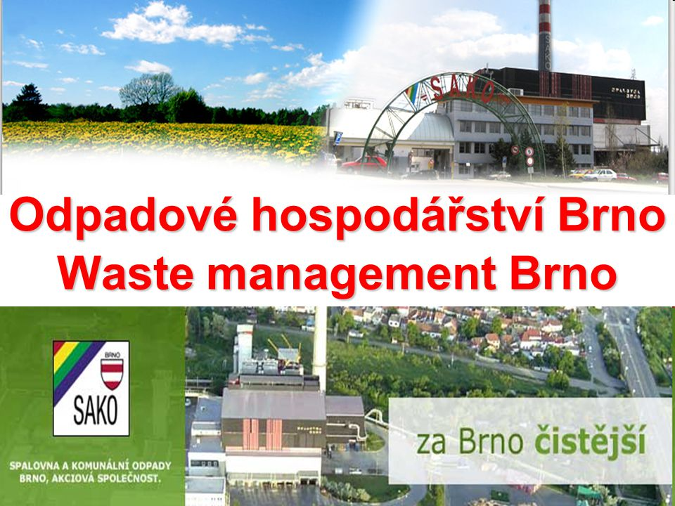 Odpadové hospodářství Brno Waste management Brno
